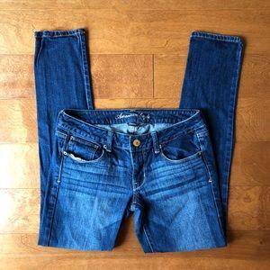 American Eagle Dark Wash Skinny Jeans